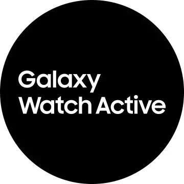 Logotipo de Samsung Galaxy Watch Active